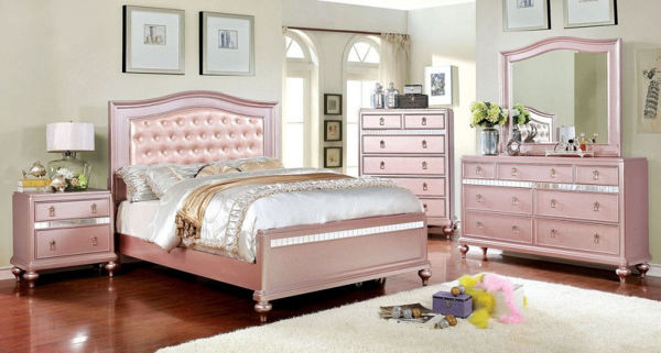 Picture of ARISTON ROSE GOLD 7PC BEDROOM