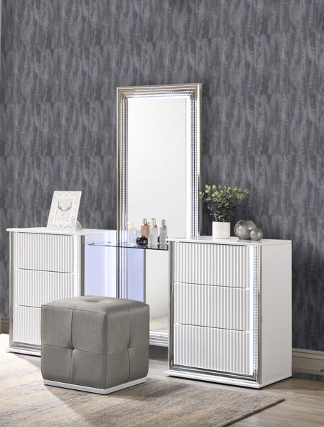 Picture of ASPEN WHITE VANITY WITH LED