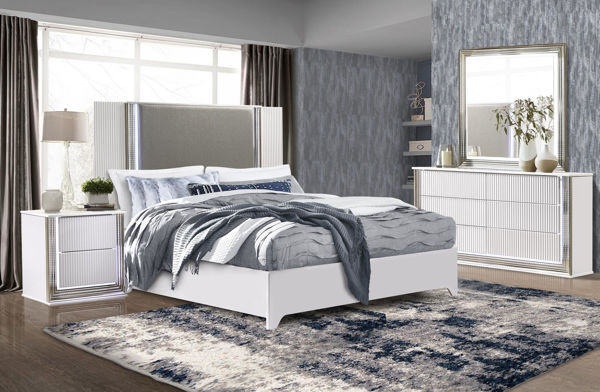Picture of ASPEN WHITE KING 5PC SUITE