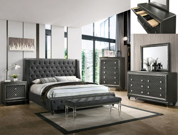 Picture of GIOVANI KING 7PC BEDROOM
