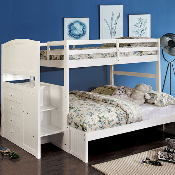 Picture of APPENZELL T/F WHITE BUNKBED