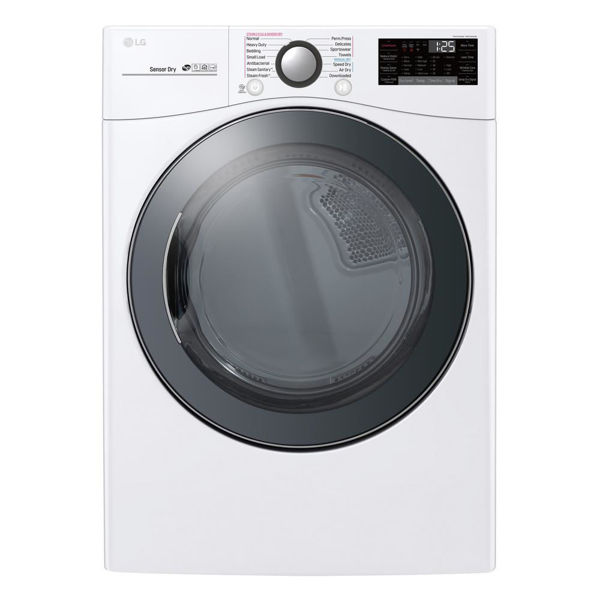 Picture of 7.4 CU' WIFI TURBO STEAM DRYER