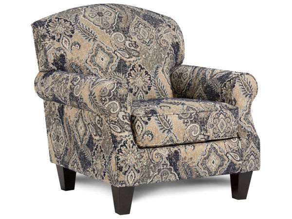 Picture of HARCOURT INDIGO ACCENT CHAIR