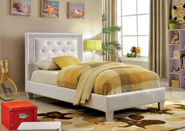 Picture of LIANNE WHITE TWIN YOUTH BED