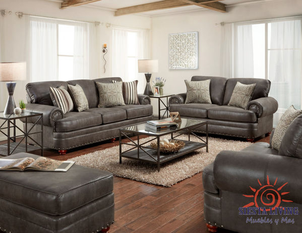 Picture of ARTESIA CHOCOLATE LOVESEAT