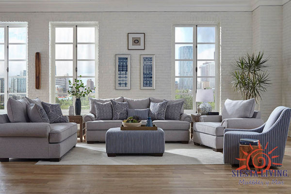 Picture of GRAY GRANITE LOVESEAT