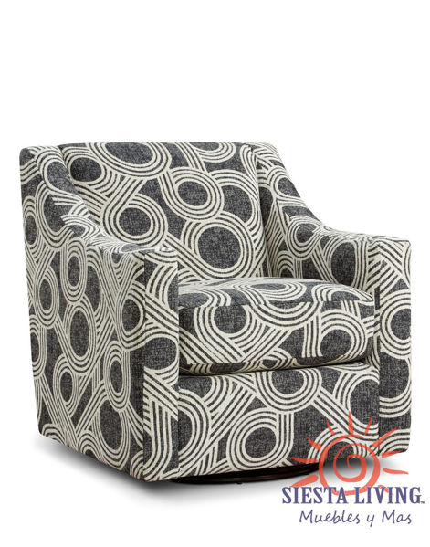 Picture of HIGHWAY CHARCOAL SWIVEL CHAIR