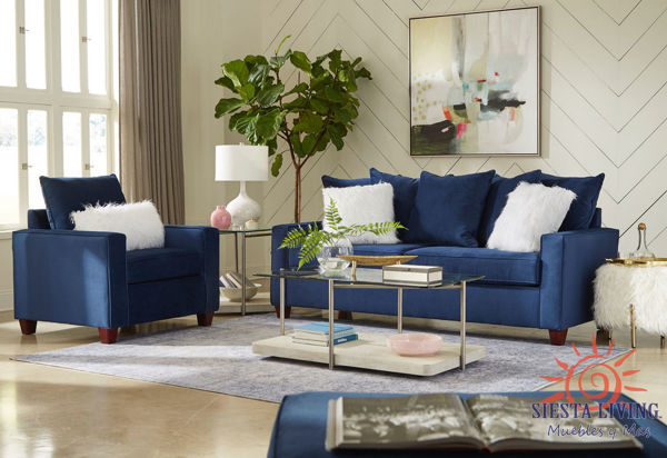 Picture of INDIGO BLUE SOFA