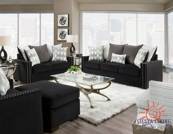 Picture of VOGUE EBONY LOVESEAT