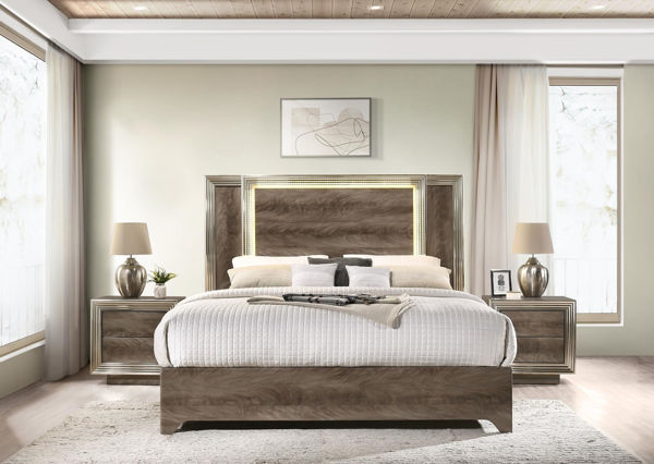 Picture of TUSCA QUEEN BED COMPLETE