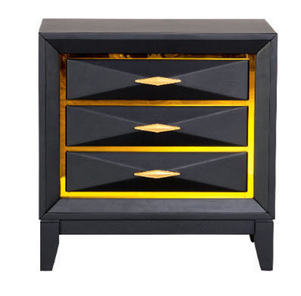 Picture of GAUDI BLACK NIGHT STAND