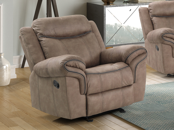 Picture of STANLEY GLIDER RECLINER BROWN