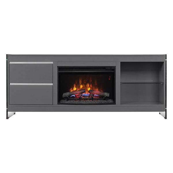 Picture of 72'' BISCAYNE  GRAY FIREPLACE