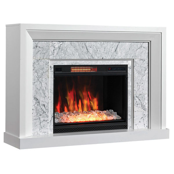 Picture of CARRARA WHITE WALL MANTLE