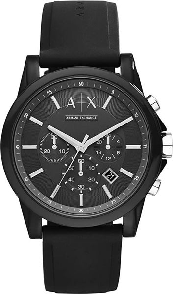Picture of ARMANI EXCHANGE BLACK WATCH