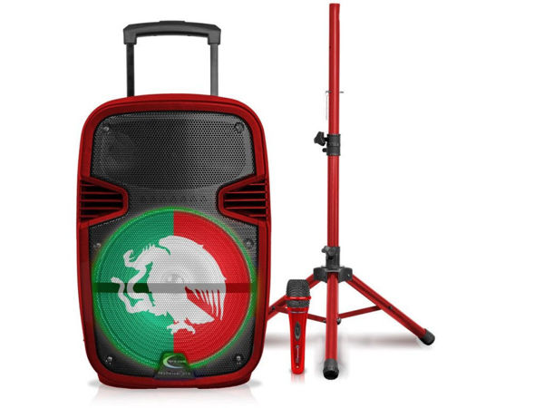 Picture of 12'' MEXICAN FLAG SPEAKER +