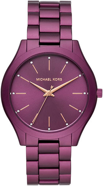 Picture of SLIM RUNWAY WATCH PURPLE