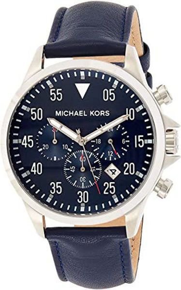 Picture of MENS GAGE WATCH BLUE LEATHER