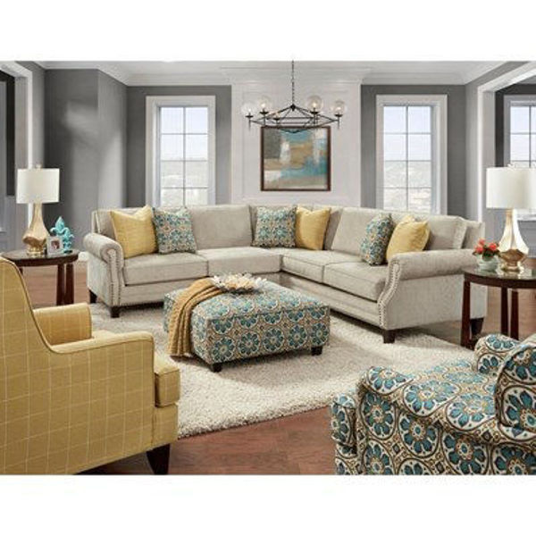Picture of ZEALAND COBBLESTONE SECTIONAL