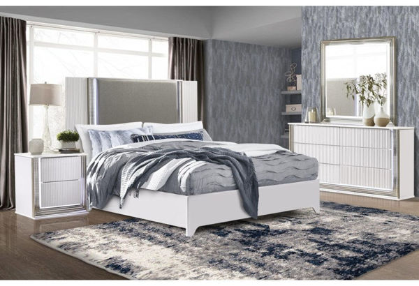 Picture of ASPEN WHITE QUEEN 7PC BEDROOM