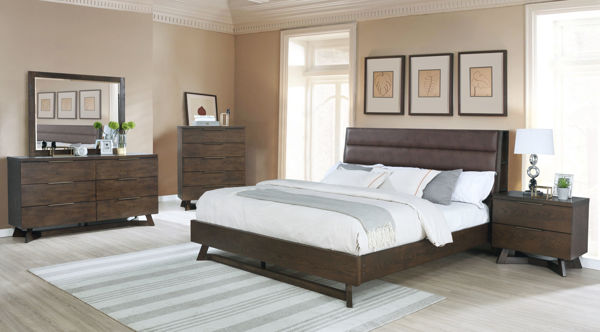 Picture of NORWAY KING 7PC BEDROOM SUITE