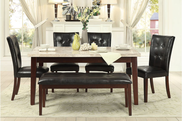 Picture of FERRARA GRAY 6PC DINETTE