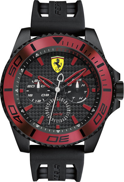 Picture of KERS BLACK/RED FERRARI WATCH