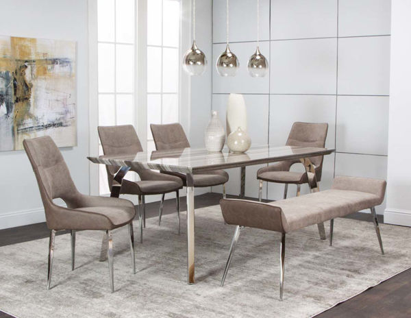 Picture of CENTURY GY FAUX MARBLE DINETTE