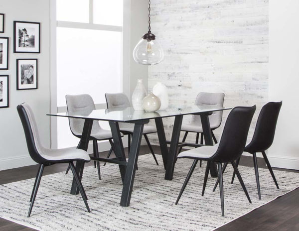 Picture of TRIPOLI GY/WH 7PC DINETTE