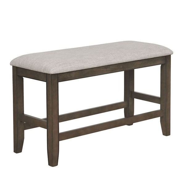 Picture of FULTON CNTR HEIGHT BENCH GRAY