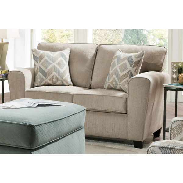 Picture of FAWN LOVESEAT SUPREME ZEST