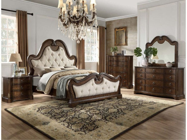 Picture of LISABEL 7 PIECES KING BEDROOM
