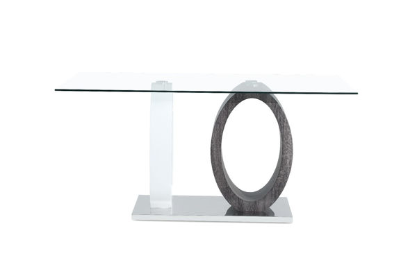 Picture of OLIVERA GLASS DINING TABLE