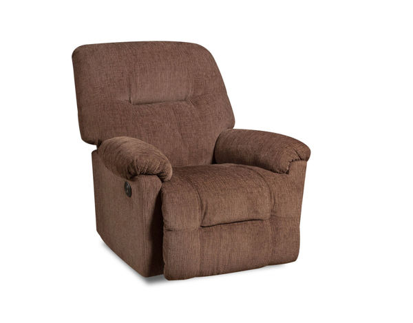 Picture of WILLARD CHOCOLATE RECLINER