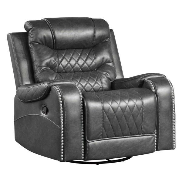Picture of PUTNAM GRAY SWIVEL GLIDER