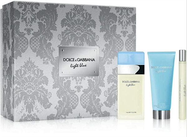 Picture of LIGHT BLUE 3PC GIFT SET