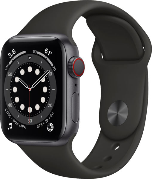 Picture of WATCH 6 BLACK 40MM + CELL!!!!!