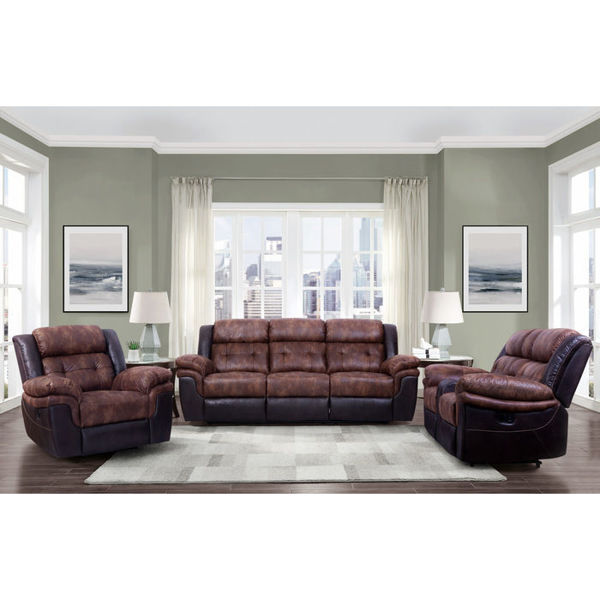 Picture of HORACE BLACK/BROWN SOFA/LOVE