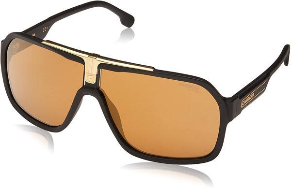 Imagen de Shield Sunglasses, Black/Brown