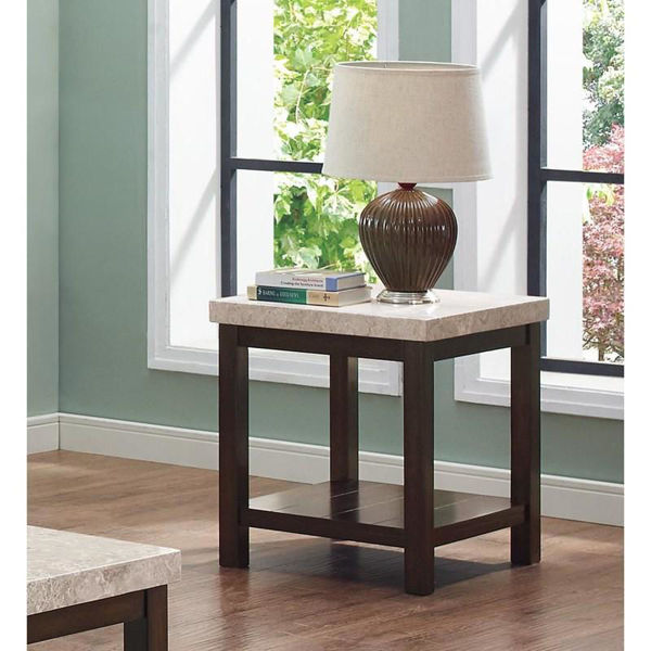 Picture of KELIA MARBLE END TABLE
