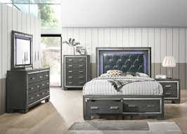 Picture of DENALI GRAY KING BEDROOM GROUP