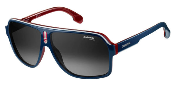 Picture of BLUE/RED PILOT SUNGLASSES
