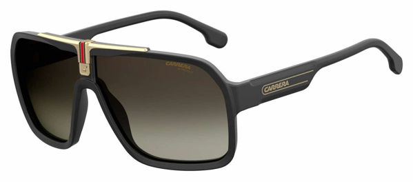Picture of Shield Sunglasses, Black Gold